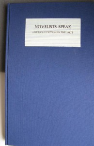Novelists Speak