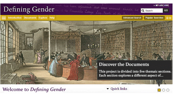 Defining Gender database redesigned!