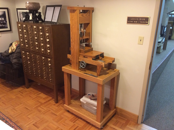 Suggested To The Mechanical Engineering Department That Designing And Building A Working Model Of Gutenberg Printing Press Could Make An Interesting