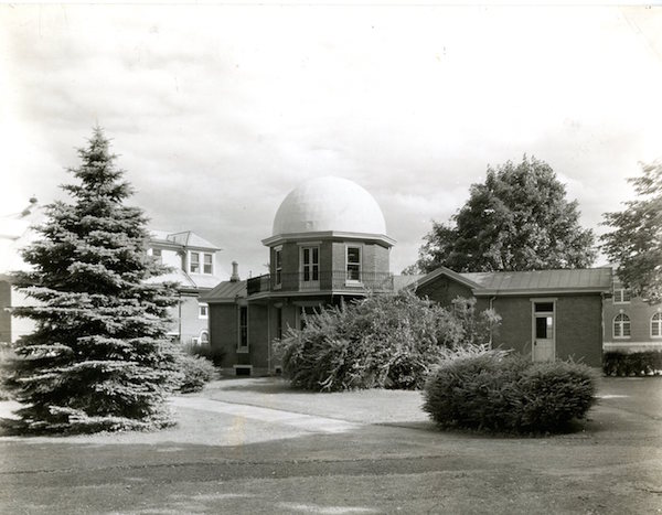 From Special Collections/University Archives: Bucknell's Observatory