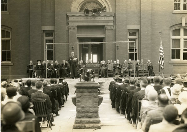 From Special Collections/University Archives: Commencement at Bucknell