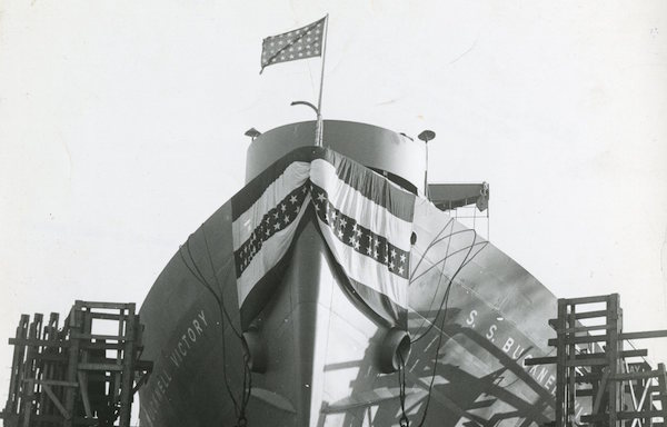 From Special Collections/University Archives: The SS Bucknell Victory