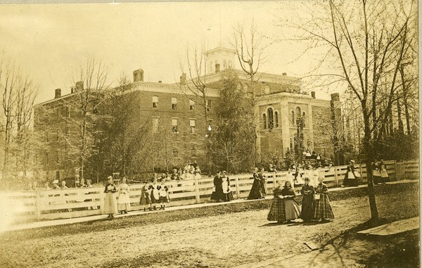 From Special Collections/University Archives:  The History of Larison Hall