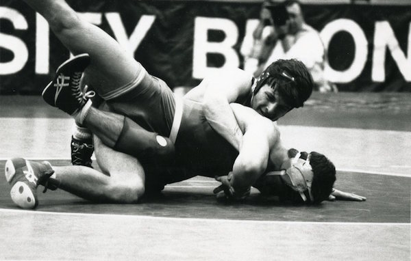 From Special Collections/University Archives Haley Stodart '19 on Bucknell Wrestling
