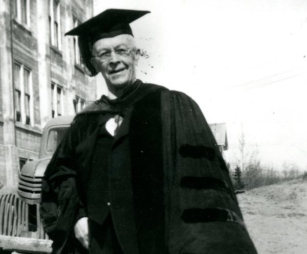 From Special Collections/University Archives:  Bucknell Alumnus Was First President of University of Alaska